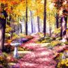№69 Лесной пейзаж 47-3008-НЛ (2011-07) оригинал