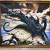 87 Черный дракон 36-2310-НЧ картина