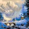 №136 Закат в горах 40-4674-НЗ (2012-12) оригинал