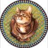 №226 Тарелка с кошкой 41-3025-НТ (2014-09) оригинал