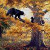 №321 Медведи на дереве 43-4880-НМ (2018-08) сетка