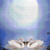 №337 Луна и лебеди 37-2806-НЛ (2019-01) сетка