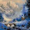 №136 Закат в горах 40-4674-НЗ (2012-12) сетка