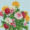 №25 Хризантемы 32-2382-НХ (2010-08) сетка