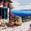 №45 Морской пейзаж 49-3646-НМ (2011-01) сетка