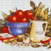 №68 Кухонный натюрморт 33-1419-НК (2011-07) сетка