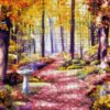 №69 Лесной пейзаж 47-3008-НЛ (2011-07) сетка