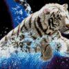 №89 Белый тигр 34-1518-НТ (2011-12) сетка