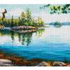 №358 Дикая природа Аляски 48-6579-НДТ (2019-08) сетка