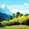 №374 Альпийский пейзаж 46-4187-НА (2020-02) превью