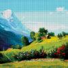 №374 Альпийский пейзаж 46-4187-НА (2020-02) сетка