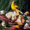 №375 Птица и ракушки 48-3550-НП (2020-02) сетка