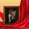 Картина Леопард фон